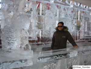 Outdoor Ice bar - Quebec City -Urban Traveler