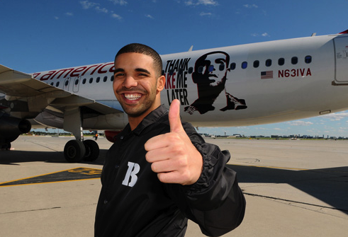 Urban Traveler Drake Virgin America